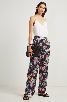 French Connection Bridget Satin Relaxed Trousers