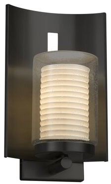 Longshore Tides Getz Outdoor Armed Sconce Finish Matte Black Shopstyle