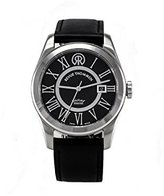 Revue Thommen Men's 103.01.02 Millennium Classic Analog Display Swiss Automatic Black Watch