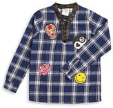 Flowers by Zoe Girls 7-16 Plaid Flannel Tunic