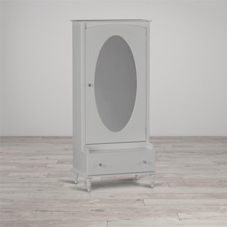 Little Seeds Rowan Valley Laren Armoire with Mirror, Gray