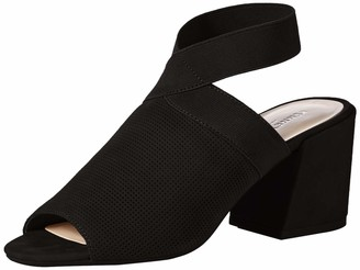 Kenneth Cole New York Women's Hannon Elastic Ankle Strap Heeled Sandal
