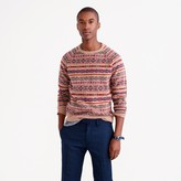 J.Crew Lambswool Fair Isle sweater in honey