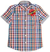 GUESS Gingham Patch Shirt (8-20)