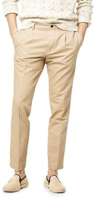 Todd Snyder Oxford Pleated Dress Jogger in Khaki