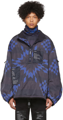 TAKAHIROMIYASHITA TheSoloist. Blue Balloon Sleeve Trek Jacket