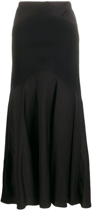 Ralph Lauren Collection Panelled Maxi Skirt
