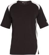 Y-3 Y-panel cotton T-shirt