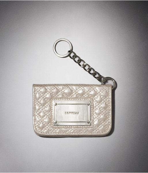 Express Quilted Key Ring Wallet