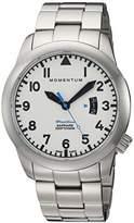 Momentum Men's Swiss Quartz Stainless Steel Watch, Color:Silver-Toned (Model: 1M-SP18LS0)