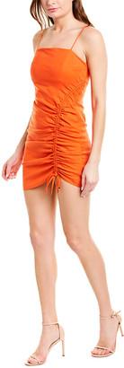 Ramy Brook Carsen Linen-Blend Sheath Dress
