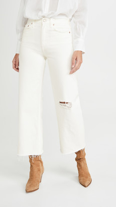 TRAVE Audrey Crop Wide Leg Jeans