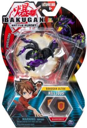 Bakugan Nillious Collectible Action Figure Trading Card Set
