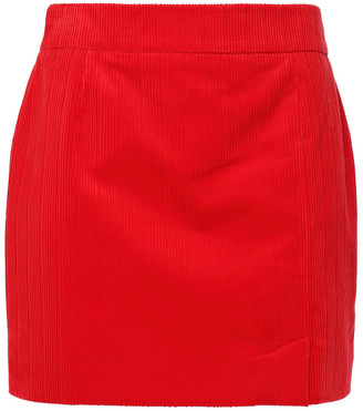 Bella Freud Cotton-corduroy Mini Skirt