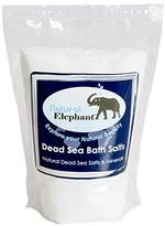 Natural Elephant Dead Sea Salt 100% Natural & Pure 1 lb, 2 lb, 5 lb, 10 lb Bag Fine Grain for Psoriasis Eczema Acne & Other Dermatological Needs, 2 lb, 900g