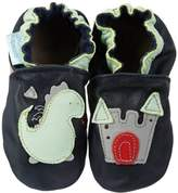 Jack & Lily Baby Fairytale dragon navy First Walking Shoes Blue Blau (Navy) Size: 18/19