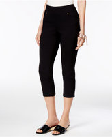 Thalia Sodi Cropped Snap-Cuff Pants, Only at Macy's