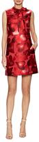Valentino Heart Printed Mini Dress