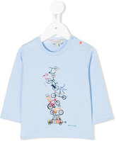 Paul Smith bicycles print top