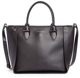 Alexander McQueen 'Inside Out' Leather Shopper - Black