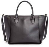 Alexander McQueen 'Inside Out' Leather Shopper - Black