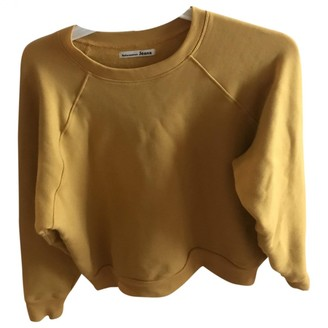 Reformation Yellow Cotton Knitwear