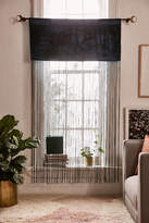 Urban Outfitters Arianna Velvet Fringe Window Panel