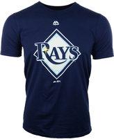 Majestic Kids' Short-Sleeve Tampa Bay Rays Logo T-Shirt