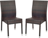 Asstd National Brand Emelie Set of 2 Wicker Chairs