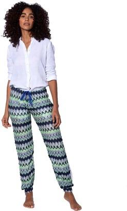 MC2 Saint Barth Multicolor Bluette Chevron Knitted Pants