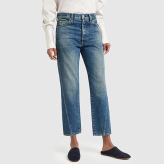 Amo Loverboy High-Rise Twist-Seam Jeans