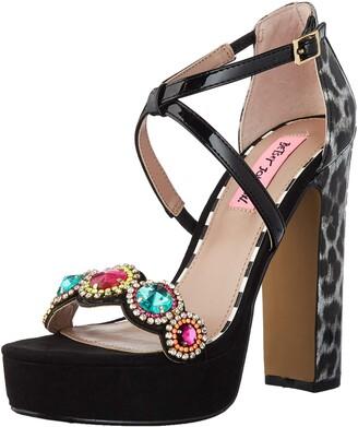 Betsey Johnson Women's Sainte Heeled Sandal