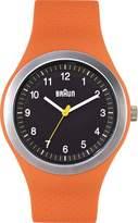 Braun Men's BN0111BKORG Sport Analog Display Quartz Orange Watch