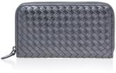 Bottega Veneta Zip Around Metallic Wallet
