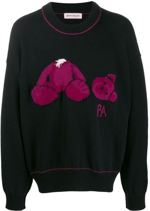 Palm Angels Kill the Bear knitted sweater