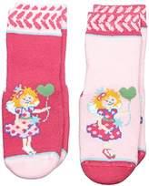 Prinzessin Lillifee Girl's Calf Socks - Pink -