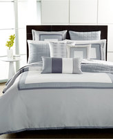 Hotel Collection Modern Frame Queen Comforter