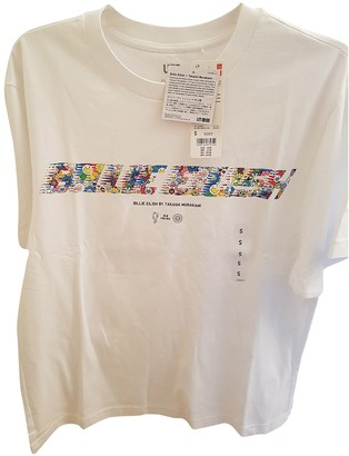 Takashi Murakami White Cotton Tops