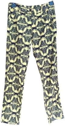 Thomas Wylde Multicolour Silk Trousers for Women