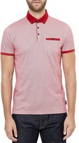 Ted Baker Rokit Geo Print Regular Fit Polo