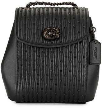 Coach Parker Convertible Quilted Backpack 16