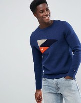 Tommy Hilfiger Bastian Crew Neck Sweater In Blue