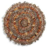 Twos Company Two's Company Pheasant Park Round Decorative Mats-Set of 6