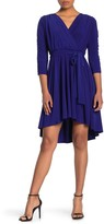 Eliza J Ruched Sleeve Jersey Dress (Petite)