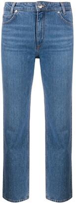 Sandro Paris Cropped Jeans