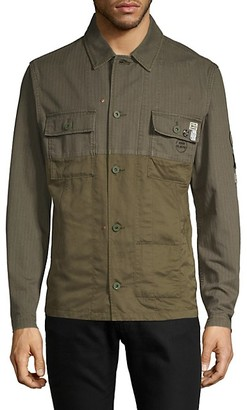 Scotch & Soda Graphic Military Shirt