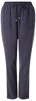 Phase Eight Anita Soft Trousers, Navy