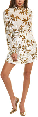 Dodo Bar Or Anita Silk-Blend Cocktail Dress