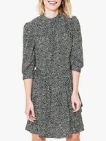Oasis Mono Print Skater Dress, Multi