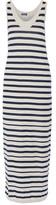 Splendid Striped cotton-jersey maxi dress
